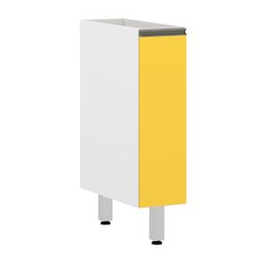 Balcão 1 Porta Amrela 82,5x20x53cm Spring
