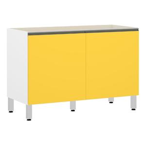 Balcão 2 Portas Amarela 82,5x120x53cm Spring