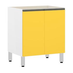 Balcão 2 Portas Amarela 82,5x70x53cm Spring