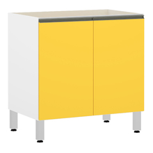 Balcão 2 Portas Amarela 82,5x80x53cm Spring
