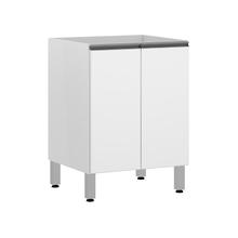 Balcão 2 Portas Branco Matte 82,5x60x53cm Sping