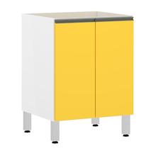Balcão 2 Protas Amarela 82,5x60x53cm Spring