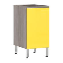 Balcão de Cozinha 1 Porta 53x82,5x52,5cm Amarelo  Prime Luciane