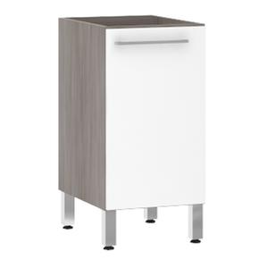 Balcão de Cozinha 1 Porta 53x82,5x52,5cm Branco Prime Luciane