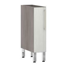 Balcão de Cozinha 1 Porta 53x82,5x52,5cm Frassino Bianco Prime Luciane