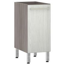 Balcão de Cozinha 1 Porta 53x82,5x53cm Frassino Bianco Prime Luciane