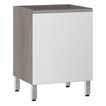 Balcão de Cozinha 1 Porta 53x82,5x60,8cm Branco Prime Luciane