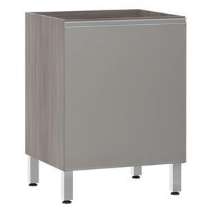 Balcão de Cozinha 1 Porta 53x82,5x60,8cm Capuccino Prime Luciane
