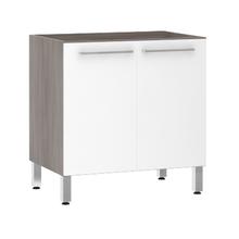 Balcão de Cozinha 2 Portas 53x82,5x53cm Branco Prime Luciane