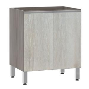 Balcão de Cozinha 2 Portas 53x82,5x53cm Legno Crema Prime Luciane