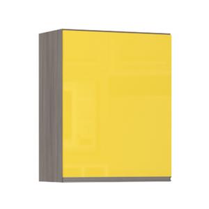 Balcão de Cozinha 53x82,5x53cm Amarelo  Prime Luciane