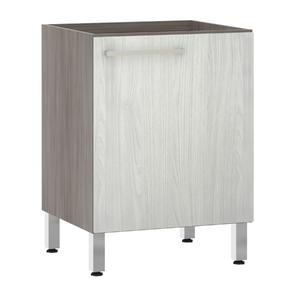 Balcão de Cozinha 53x82,5x60,8cm Frassino Bianco Prime Luciane