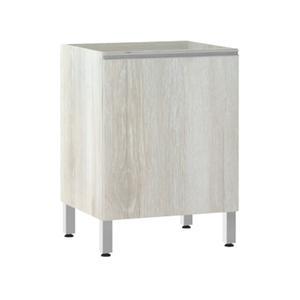 Balcão de Cozinha 53x82,5x60,8cm Legno Crema Prime Luciane