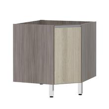 Balcão de Cozinha Canto Diagonal 76x82,5x75cm Cedro Prime Luciane