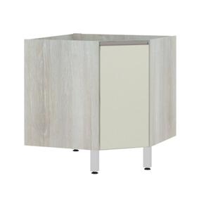 Balcão de Cozinha Canto Diagonal 76x82,5x75cm Kashmir Prime Luciane