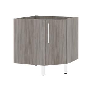Balcão de Cozinha Canto Diagonal 76x82,5x75cm Malbec Prime Luciane