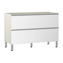 Balcão de Cozinha Misto 53x82,5x53cm Branco Prime Luciane