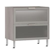 Balcão de Cozinha Misto 53x82,5x53cm Miniboreal Prime Luciane