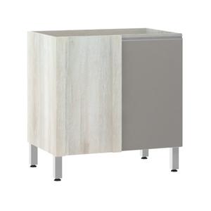Balcão de Cozinha Reto 53x82,5x53cm Capuccino Prime Luciane