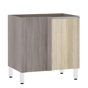 Balcão de Cozinha Reto 53x82,5x53cm Cedro Prime Luciane