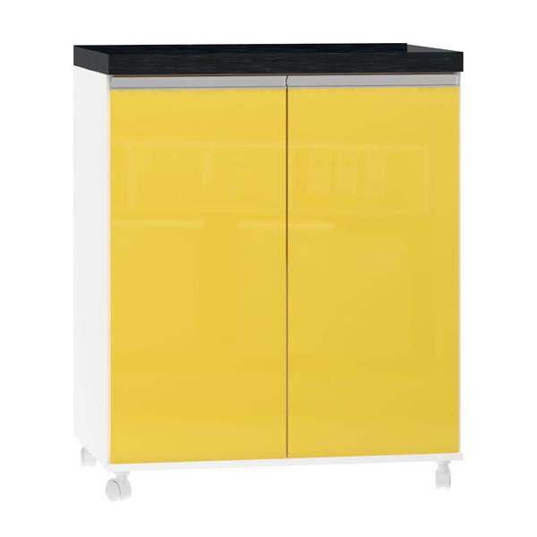 Artesanato Em Eva Infantil Passo A Passo ~ Balcao Lavanderia 2 Portas 85x70x47cm Amarelo Luciane