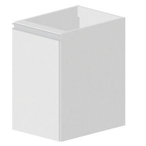 Balcão Madeira Branco Bonatto Montreal 67x40x56cm