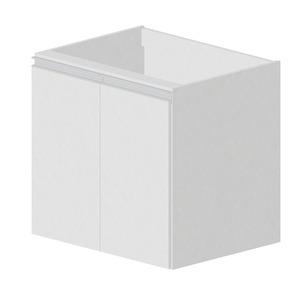 Balcão Madeira Branco Bonatto Montreal 67x70x56cm