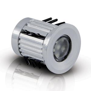 Balizador de Chão LED 0,5W Bivolt Luz Vermelha Iluctron