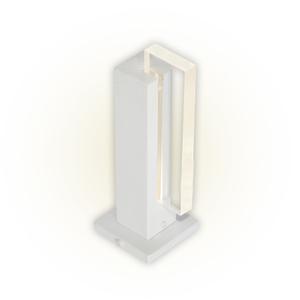 Balizador Felluz Conceito Retangular Alumínio Branco G9