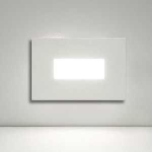 Balizador LED Alloy WA Metal Luz Amarela 180lm Bivolt