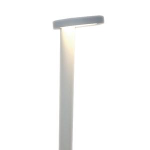 Balizador LED de Chão Sobrepor 12W Luz Amarela STB Alloy