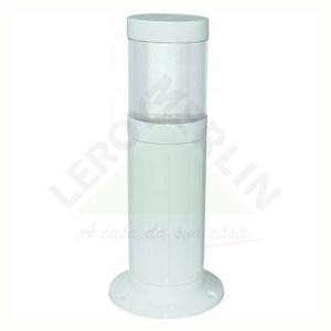 Balizador Nimbus Plástico Branco Baxton