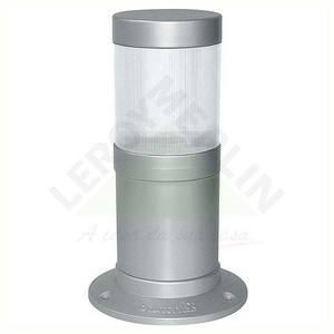 Balizador Nimbus Plástico Prata Baxton