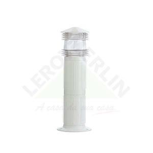 Balizador Plástico Branco Baxton