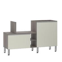 Bancada de Cozinha Península 43,4x82,5x65cm Kashmir Prime Luciane