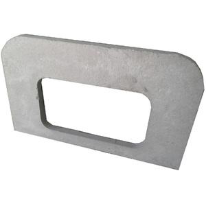 Bancada Lisa para Churrasqueira Grande Concreto 120cmx6cm Fortal