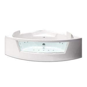 Banheira com Hidromassagem 150x150x60cm Cristal Confort Pretty Jet