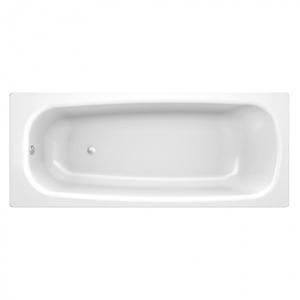 Banheira sem Hidromassagem 180x80x38,5cm Aço Branco Europa Celite