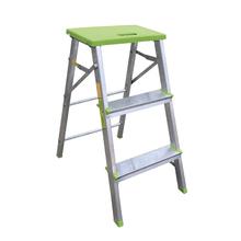 Banqueta Escada 3 Degraus Alumínio 69,5cm 120kg Standers