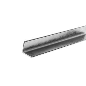 """Barra Cantoneira 1/2""""x1/8"""" Aço Carbono ABD Ferro e Aço"""