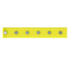 Barra Magnética 40cm com 6 posição Amarelo Domo