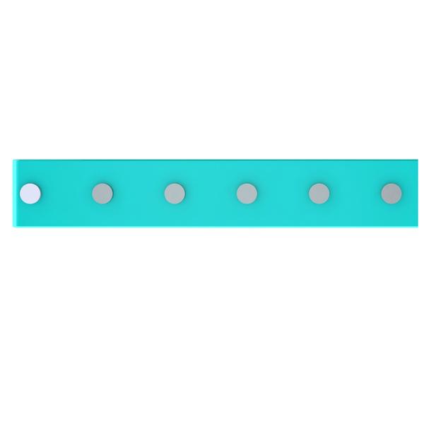 Barra Magnética 40cm com 6 posição Azul Domo  207eae9d1a49