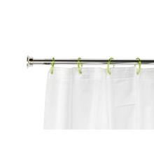 Barra para Cortina de Banheiro Extensível de 75cm a 135cm Cromada Sensea