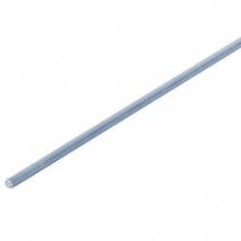 Barra Roscada Aço Carbono Zincado Branco 6mmx1m