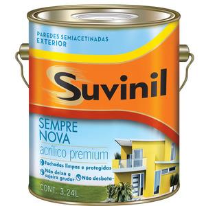Base A2 Tinta Acrílica Premium Acetinada Sempre Nova 3,24L Suvinil
