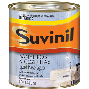 Base A2 Tinta Epóxi Acetinado Premium Banheiros & Cozinhas 0,81L Suvinil