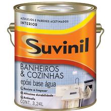 Base A2 Tinta Epóxi Acetinado Premium Banheiros & Cozinhas 3,24L Suvinil