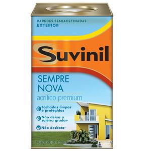 Base B2 Tinta Acrílica Premium Acetinada Sempre Nova 16,2L Suvinil