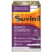 Base B Tinta Acrílica Fosco Premium Fosco Completo 16,2L Suvinil