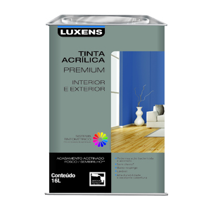 Base C Acrílica Acetinada Premium 16L Luxens